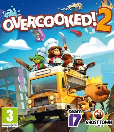Overcooked! 2 [v 4.576282 + DLC] (2018) PC | Лицензия